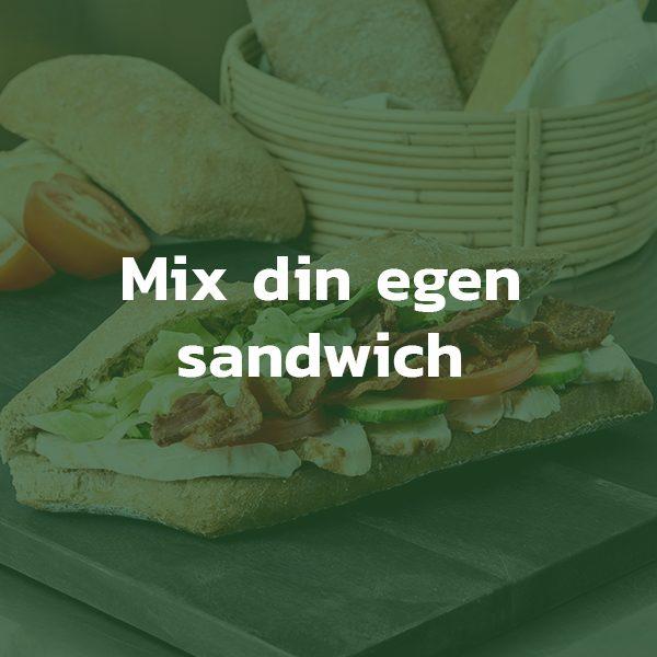 Mix din egen sandwich