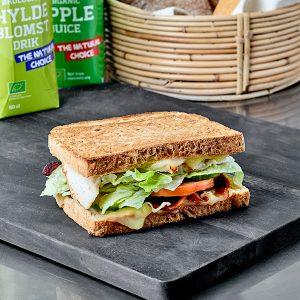 En melt sandwich. toast sandwich