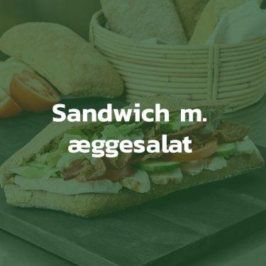 Sandwich med æggesalat