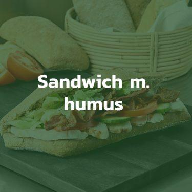 Sandwich med humus
