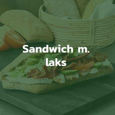 Sandwich med laks