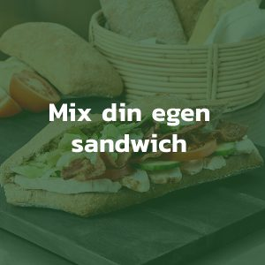 Mix din egen sandwich