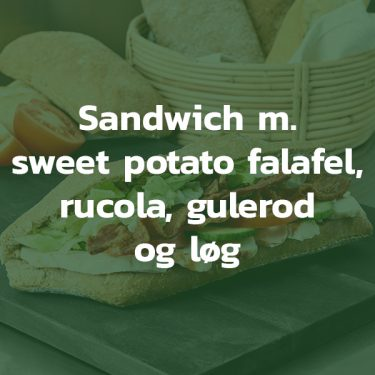 Sandwich med sweet potato